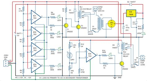 Automatic Light Overcharging Control With Voltage