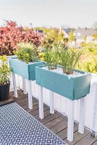Diy Garten Ideen : diy pflanzk bel als sichtschutz f r den balkon leelah loves ~ Indierocktalk.com Haus und Dekorationen
