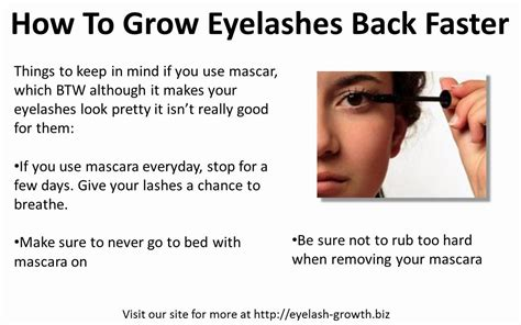 how to get to grow fast how to grow eyelashes back faster youtube