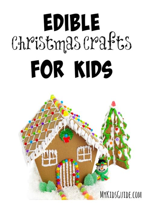 edible christmas crafts for kids