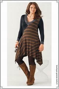 Bottines Avec Robe : tunique longue asym trique unie et rayures se porte aussi en robe avec des bottes hautes en ~ Carolinahurricanesstore.com Idées de Décoration