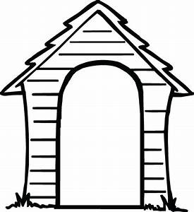 Dog house clip art clipart collection