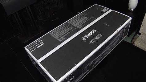 yamaha ysp 2500 unboxing the yamaha ysp 2500 digital sound projector