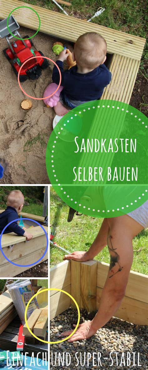 Sandkasten Für Terrasse by Selbstgebauter Sandkasten Stabil Und Einfach Zu Bauen
