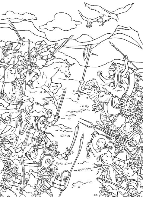 Narnia Coloring Pages - Eskayalitim