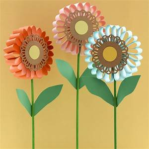 Flowers for all ages - easy kids crafts - spring craft ...
