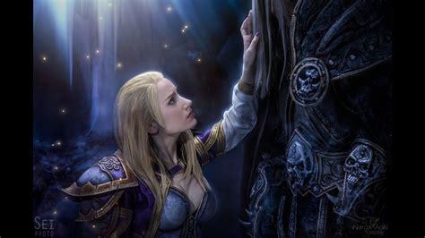 Wallpaper World Of Warcraft Jaina Proudmoore And Arthas Menethil Devil Side Youtube