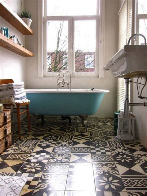 patterned tiles floors i saw and liked decorator s notebook