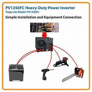 Amazon Com  Tripp Lite Pv1250fc Industrial Inverter 1250w