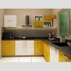 Kelly Lshaped Modular Kitchen Designs India  Homelane