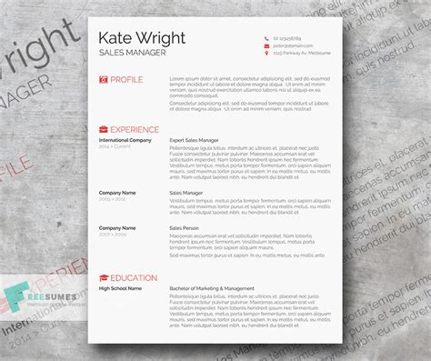 Theminimalist Template by 12 Best Resume Templates To Download And Start Sending Out