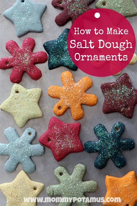 how to make ornament salt dough ornament recipe