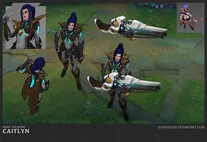 Pulsefire Caitlyn Concept | LoL Wallpapers