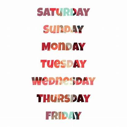 Week Days Quotes Tuesday Start Saturday Cantienica