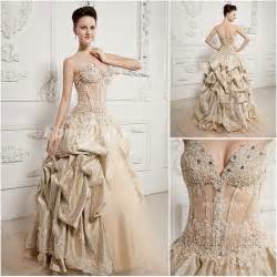 chagne color wedding dress chagne coloured wedding dresses wedding dresses