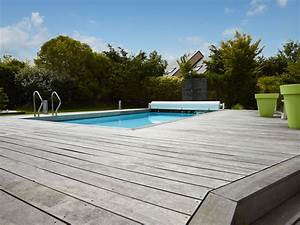 Eclairage Piscine Bois : terrasse bois sur mesure atelier madec nantes 44 ~ Edinachiropracticcenter.com Idées de Décoration
