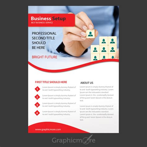 Colorful Corporate Business Flyer Template Psd File Free Business Setup Flyer Design Free Psd File By Graphicmore
