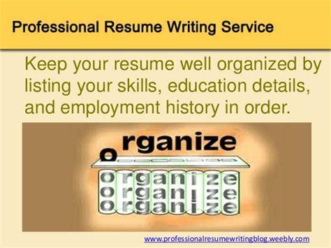 12 professional resume writing tips