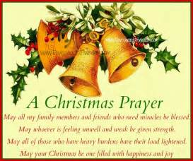 daveswordsofwisdom com a christmas prayer for family and friends