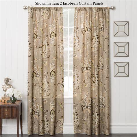 Curtain Panels by Zara Jacobean Energy Efficient Curtain Panels
