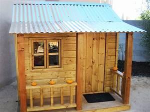 PDF DIY Children Outdoor Playhouse Plans Download