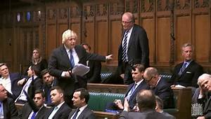 Boris Johnson unleashes fury in the Commons during Brexit ...