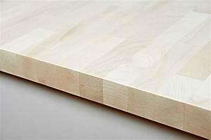 Arbeitsplatte 800 Mm Tief : arbeitsplatte k chenarbeitsplatte massivholz ahorn kgz fsc 19 26 40 x 4200 x 600 800 ~ Markanthonyermac.com Haus und Dekorationen