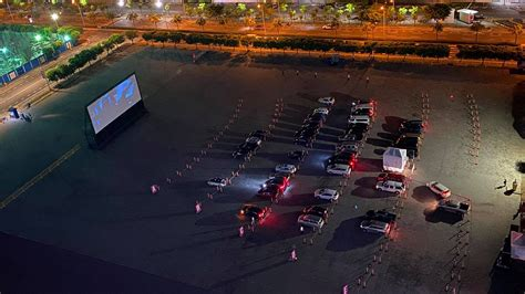 Check out SM Mall of Asia's drive-in movie theater
