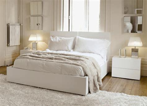 belles chambres à coucher deco chambre a coucher blanche