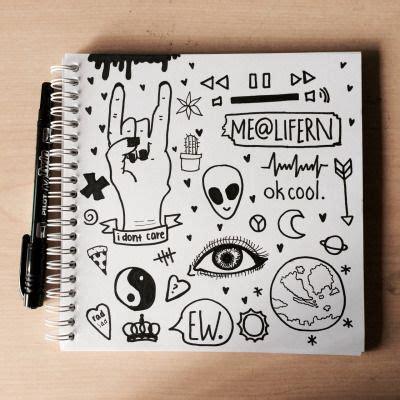 grunge doodles tumblr zeichnungen kritzel zeichnungen