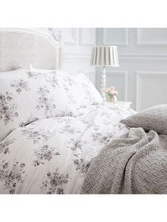 shabby chic bedding house of fraser ikea hemnes bed for guest bedroom love the grey and floral looks so cozy basement