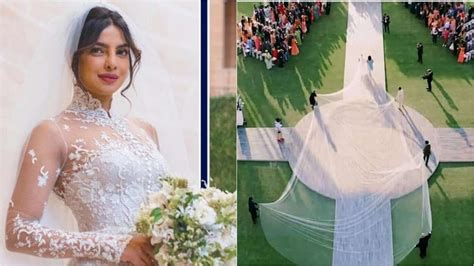 Priyanka Chopra Wedding Dress :  I Wanted The Longest Veil In The World