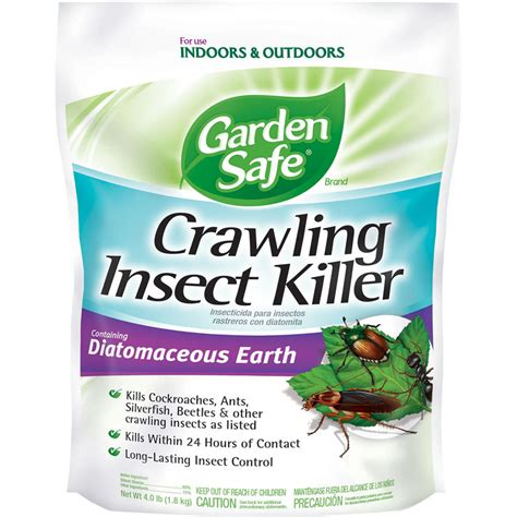 shop garden safe diatomaceous earth 4 pound s insect