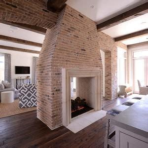 lots  good ideas  double sided fireplaces home