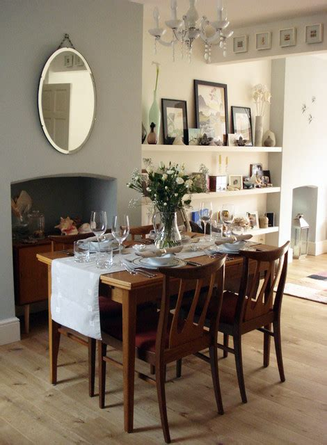 edwardian terrace loungedining room eclectic dining