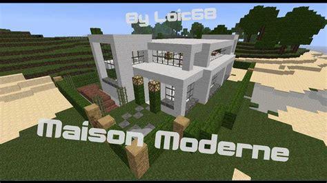 maison moderne facile sur minecraft t 233 l 233 chargement