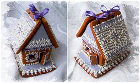 gingerbread house winter lace cookie connection