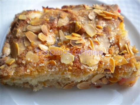 dessert avec prunes jaunes g 226 teau aux prunes et amandes les d 233 lices de mimm
