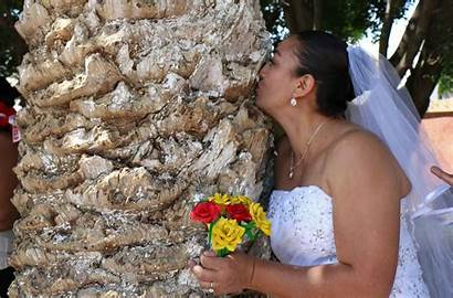 Tree Woman Marries Trees Mexico Marrying Single
