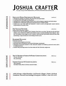 crafter resume gra617 With resume headers that stand out