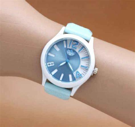 sport rubber putih jual jam tangan adidas sport rubber warna warni murah