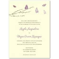 wedding invitation wording sles wedding invitations