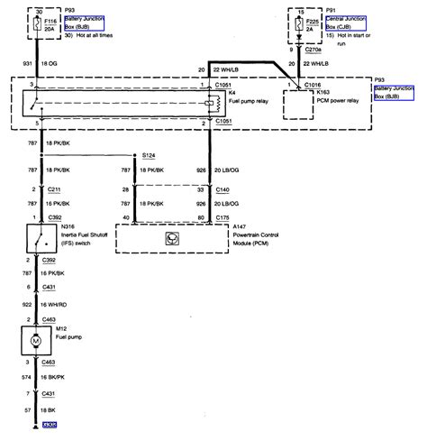 fuel wiring diagram in addition 2002 ford taurus fuel