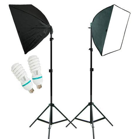 2pcs photo studio lighting softbox photography equipment