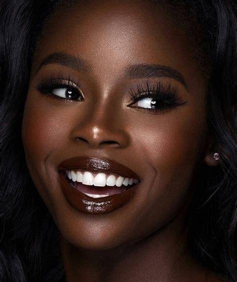 basic cardi brown makeup for black makeup for black