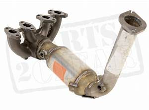 Fiat Punto Mk2 1 2 8v Exhaust Catalytic Converter Catalyst