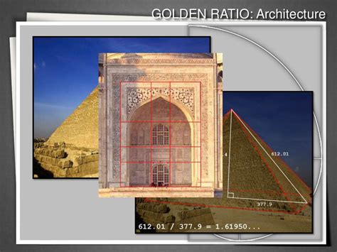 golden ratio architecture