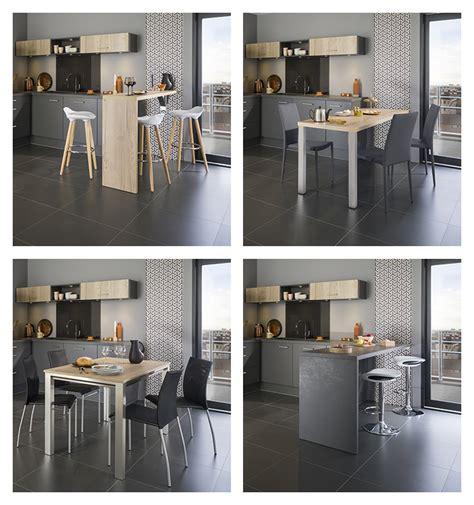 nos espaces repas pour votre cuisine equipee