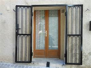 grille de defense pour porte d39entree fer forge With protection porte d entrée