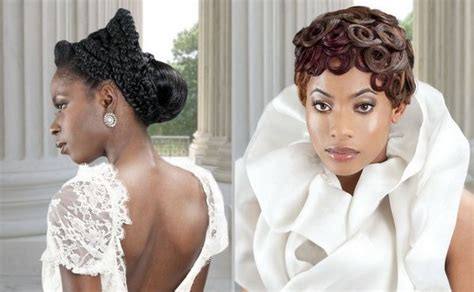381 Best African American Wedding Hair Images On Pinterest